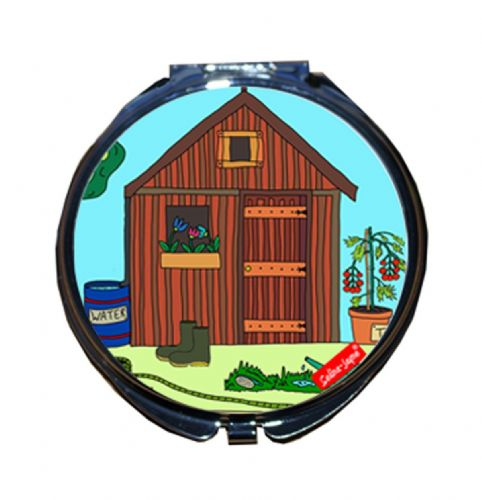 Selina-Jayne Allotment Limited Edition Compact Mirror